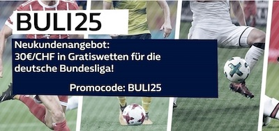 William Hill Promo zum 25. Bundesligaspieltag