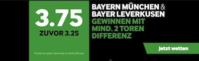 DFB Pokal Quotenboost Bayern München und Bayer Leverkusen