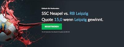 SSC Neapel gegen RB Leipzig Quotenboost bei Betvictor