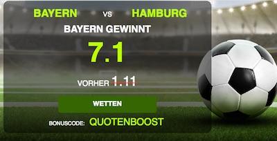 NetBet Aktion zu Bayern-HSV
