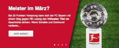 Tipico Wetten zum 27. Bundesliga-Spieltag