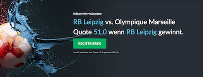 RB Leipzig gegen Olympique Marseille Quotenboost bei Betvictor