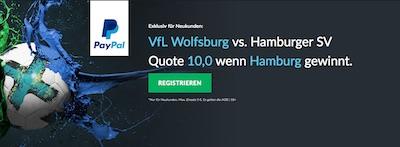 Wolfsburg gegen HSV Quotenboost bei Betvictor