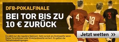 Betfair Tor-Aktion zum DFB-Pokal Endspiel