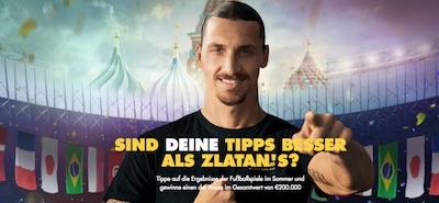 """Bethard: WM Tippspiel """"Zlatan Challenge"""""""