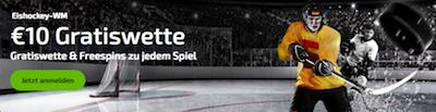 Mobilebet Gratiswetten Aktion zur Eishockey WM