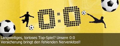 Österreich-Deutschland 0:0 Versicherung von Interwetten