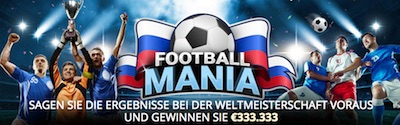 Sportingbet WM Aktion: Football Mania