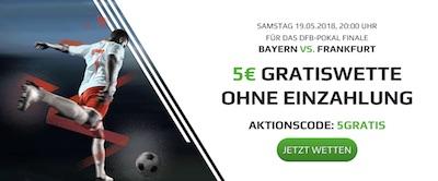 Netbet Promotion zum DFB Pokalfinale