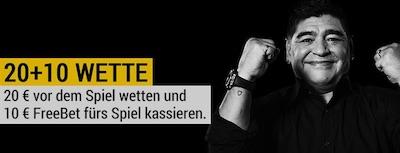 Südkorea vs. Deutschland: 20+10 Aktion von Bwin