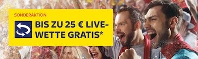 25€ Live Wette zu DFB-Testspiel bei SkyBet
