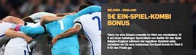 Betfair Promotion zu Belgien gegen England