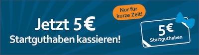 5€ Startguthaben von Betworld