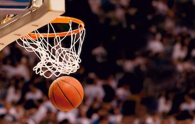 Punkt beim Basketball