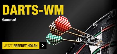 Darts-WM: 10€ Freiwette bei Cashpoint winkt