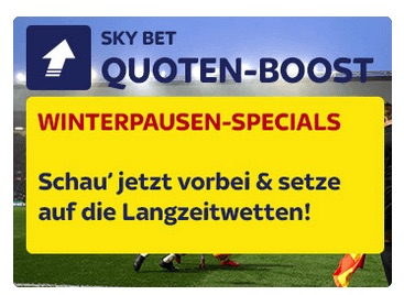 SkyBet: Top Quoten auf Langzeitwetten zu CL und Bundesliga