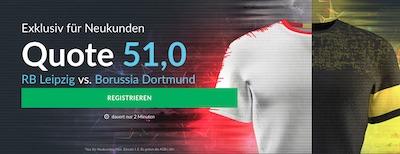 RB Leipzig gegen Borussia Dortmund Quotenboost bei Betvictor