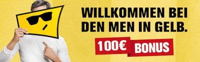 100€ Einzahlungsangebot von Interwetten