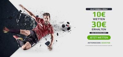 NetBet Neukundenangebot für Fußball Wette