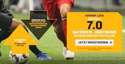 Betfair Boost FCB BVB mind 1 Tor