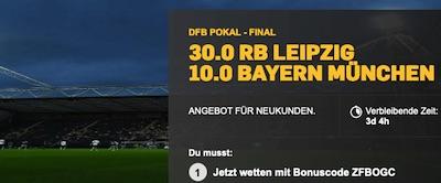 Betfair Boost: 30.0 auf Leipzig, 10.0 auf Bayern