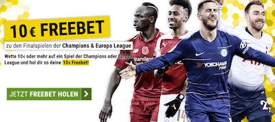 Cashpoint Champions League Gratiswette