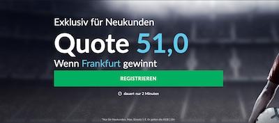 Betvictor Quotenboost zu Chelsea vs. Eintracht Frankfurt