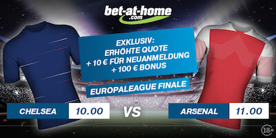 Quotenboost Europa League Finale Bet-at-home