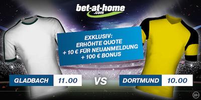 Quotenboost Mönchengladbach Dortmund Bet-at-home
