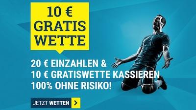 10€ Guthaben von sportwetten.de zum letzten Bundesliga Spieltag