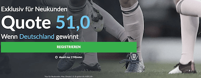 Frauen WM Quotenboost Deutschland Südafrika Betvictor