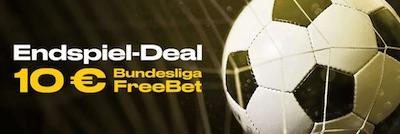 10€ Bundesliga Freebet wartet beim Endspiel Deal von Bwin