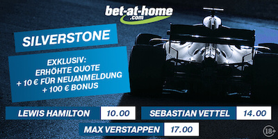 Bet-at-home Wetten Boost Silverstone