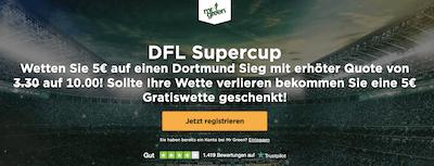Mr Green Supercup Aktion Dortmund gewinnt