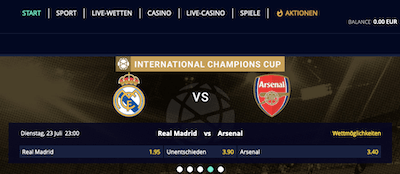 Sportempire Website