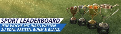 Sportingbet Leaderboard Aktion