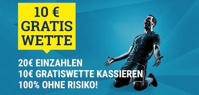10€ Gratiswette Sportwetten.de