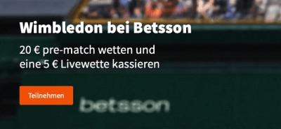 Wimbledon bei Betsson
