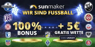sunmaker bonus gratiswette