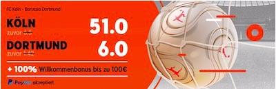 888Sport Koeln BVB Quotenboost