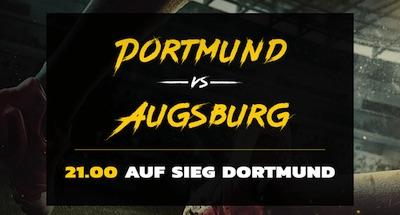 Energybet Quotenboost zu Dortmund gegen Augsburg