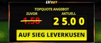 LVbet Quotenboost Leverkusen Hoffenheim