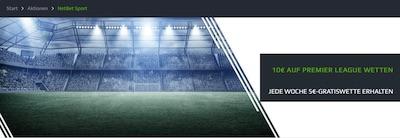 NetBet 5€ Freiwette Premier League