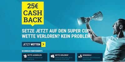 Supercup Cashback Aktion von sportwetten.de