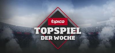 Chance auf 100€ beim Tipico Topspiel der Woche