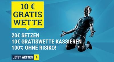 10€ Guthaben für deine EM Quali Wette bei sportwetten.de