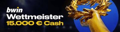 15.000€ Jackpot: Werde zum Bwin Wettmeister