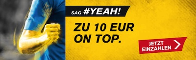 10 Euro Wettguthaben