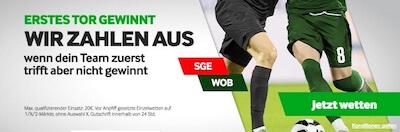 Betway Promo 1. Tor gewinnt bei Frankfurt-Wolfsburg