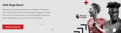 ManCity-Chelsea: 200€ Mega Boost von Zulabet